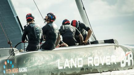 BT delivers 4G and high-speed fixed networks to help Land Rover BAR's America's Cup challenge
