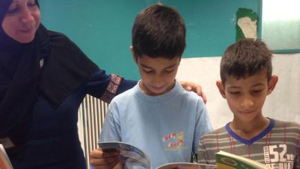 BT delivers over 1,000 books to Syrian refugees
