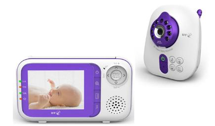 bt digital video baby monitor 1000 colour screen and two way talk bt. Black Bedroom Furniture Sets. Home Design Ideas