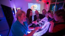 BT funds multi-sensory room for young people with disabilities in Pembrokeshire