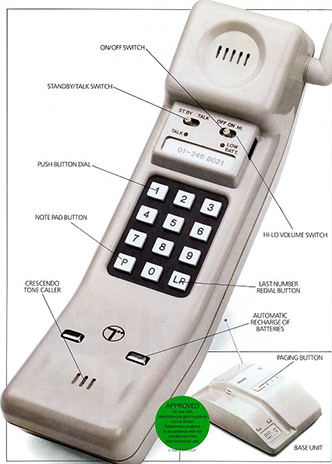 BT Hawk telephone