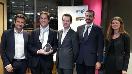 Voice-controlled smart device wins BT prize