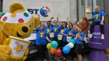BT is supporting Children In Need