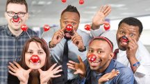 BT is supporting Red Nose Day