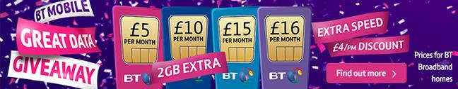 Great BT Mobile deals
