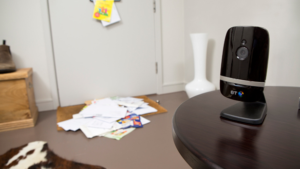 BT Smart Home Cam 100 table