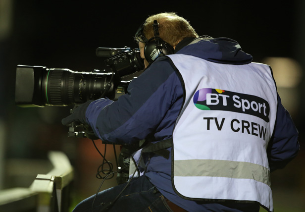 BT Sport cameraperson
