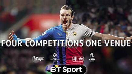 BT Sport unveils 'Four Competitions' campaign