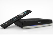 BT TV box with remote control
