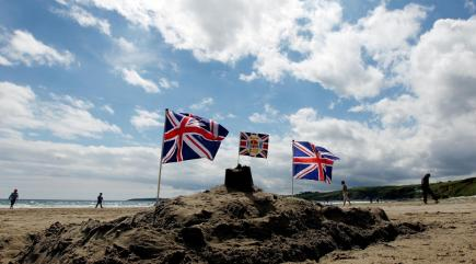Building sandcastles and eating fish and chips still top of the list for UK seaside visitors
