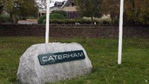 The Caterham factory in Leafield, Oxfordshire
