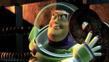 "Buzz Lightyear's catchphrase from Toy Story ""To infinity... and beyond"" has been named the nation's favourite film quote"