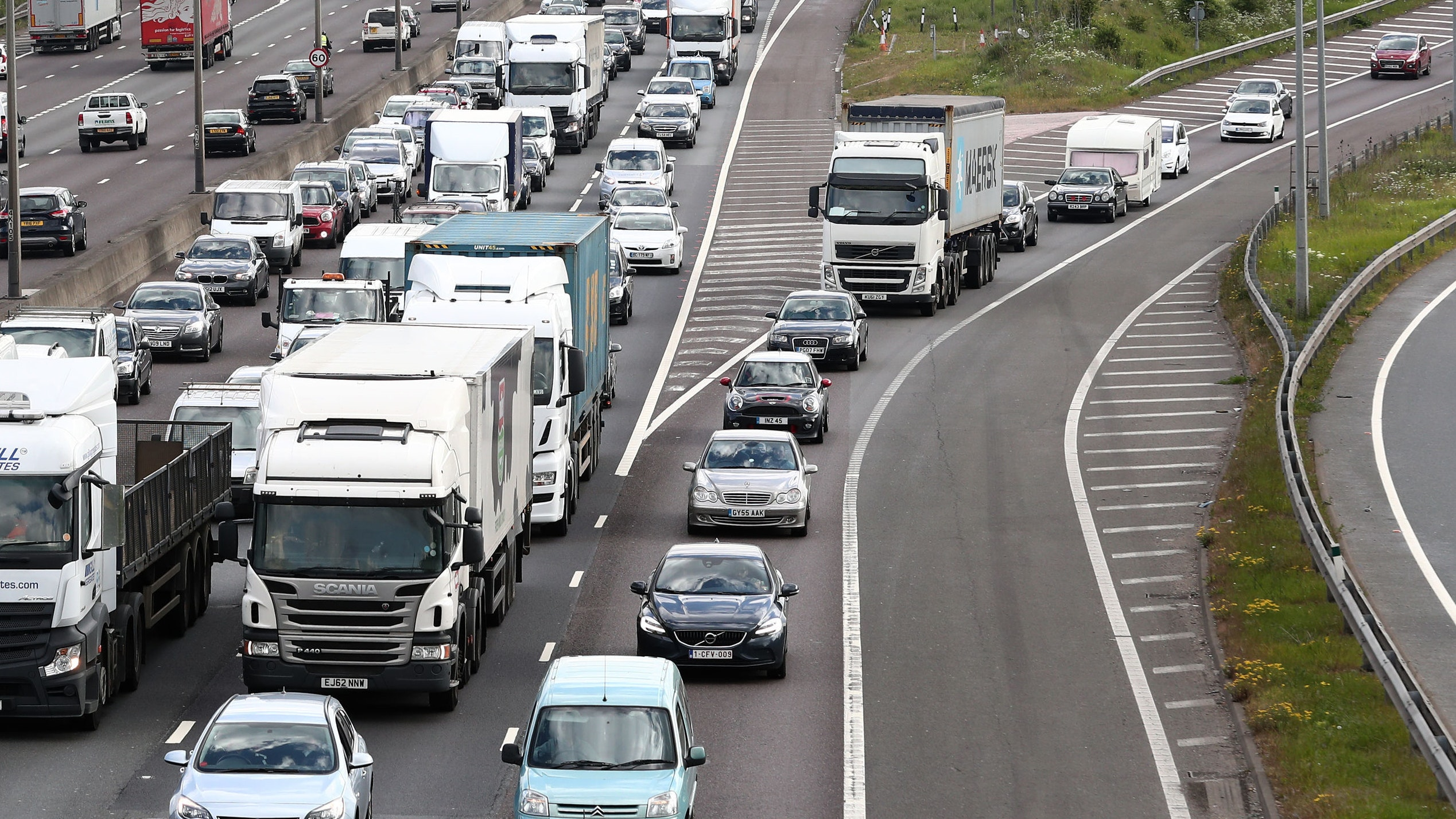 Britain among world's worst for traffic jams