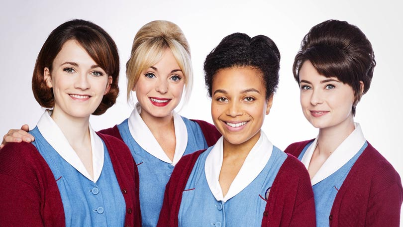 Helen George in Call the Midwife