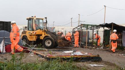 Child refugees forced to work for nothing after leaving Calais