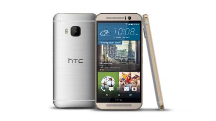 HTC One M9 front and back and side