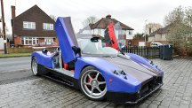 Car fanatic makes flashy supercar from scrap parts - for just £100