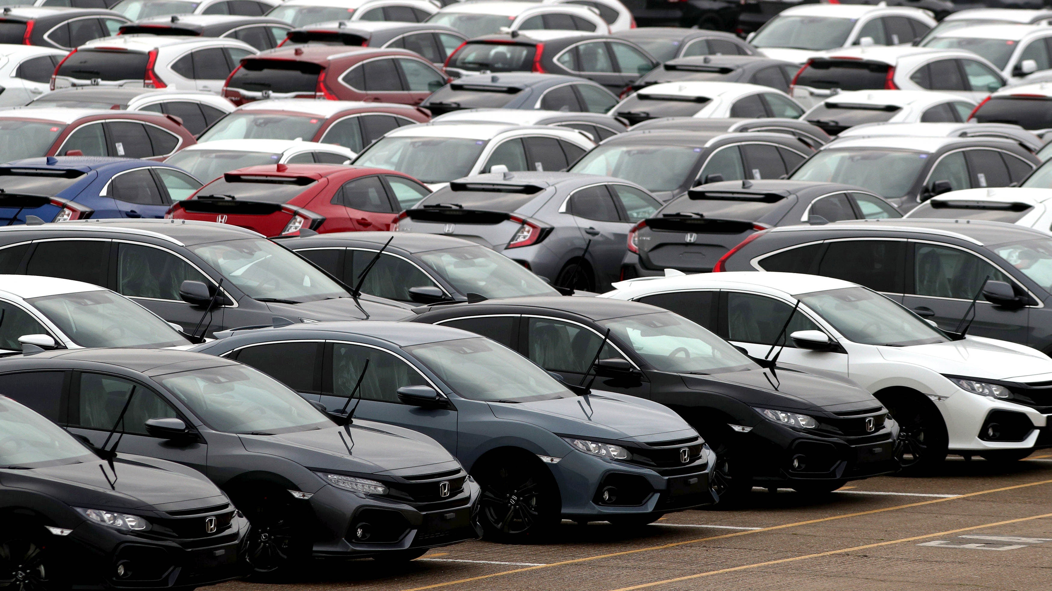 United Kingdom new vehicle sales record biggest fall since financial crisis