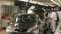 Car production figures are steady, research suggests