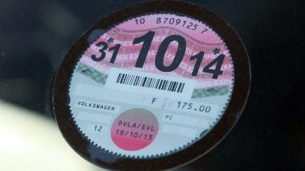 The car tax disc is being consigned to the history books