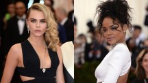 Cara and Rihanna at the Met Ball
