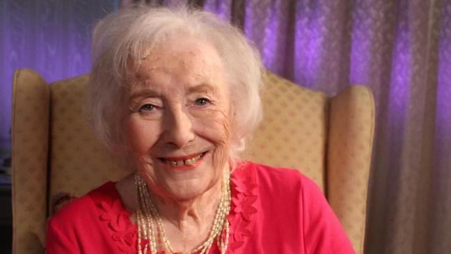 Care home residents sing We'll Meet Again for Dame Vera Lynn's 100th birthday