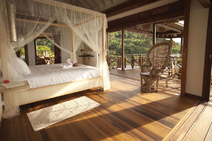 Caribbean bedroom