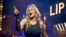 Carol Vorderman on Lip Sync Battle