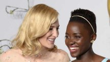 Cate and Lupita at last year's Oscars ceremony