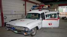 Caters/Ghostbusters car is a spooky lookalike