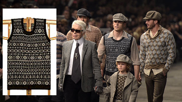 That's just not Fair Isle! Knitwear designer accuses Chanel of ...