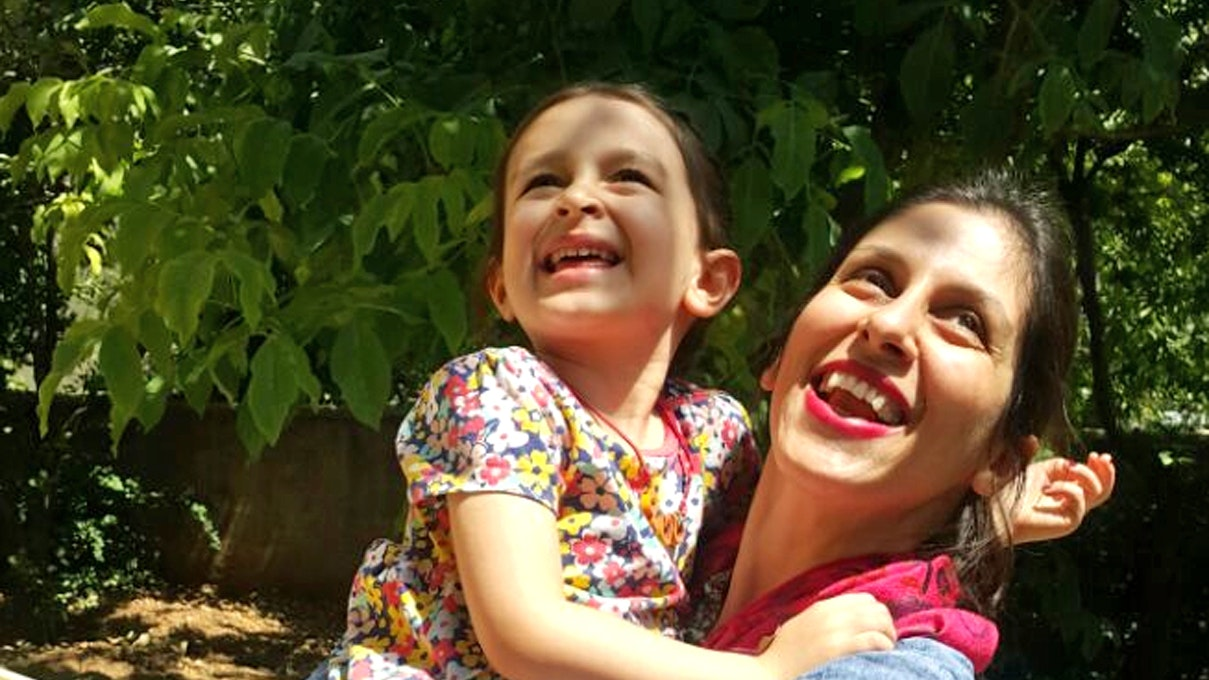 Nazanin Zaghari-Ratcliffe held in Iran released temporarily