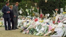 Charles 'was there for us' when Diana died, Prince Harry says