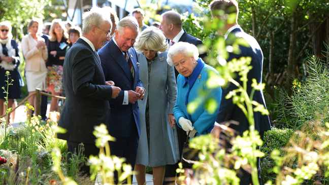 The Queen and other royals at the Chelsea Flower Show