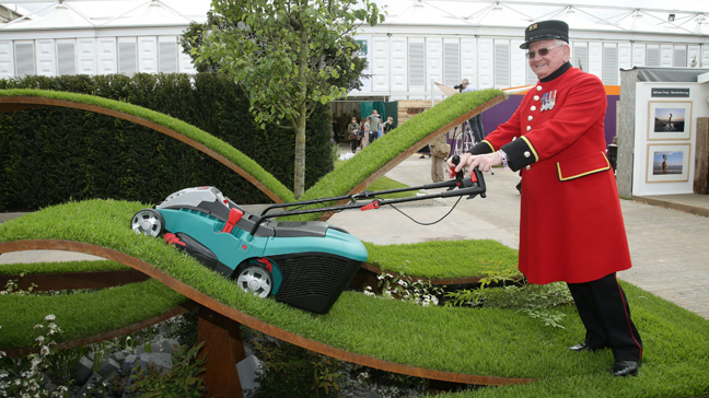 The Chelsea Flower Show at the Royal Hospital Chelsea