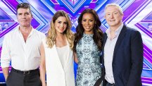 Simon Cowell calls Cheryl Fernandez-Versini in the middle of the night to discuss The X Factor (Syco/Thames TV)