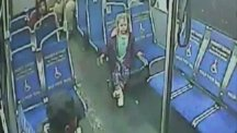 A four-year-old child taking a bus trip at 3am