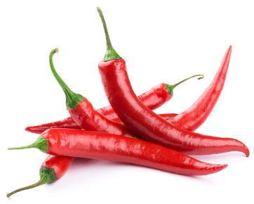 Chillis can help to keep you warm during winter