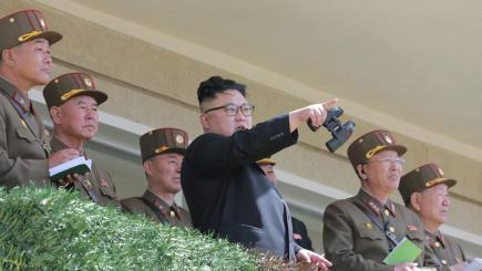 North Korea Displays Ballistic Missiles, Vows In-Kind Response if US Attacks
