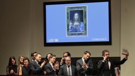 Leonardo da Vinci's Christ painting sells for record $450M