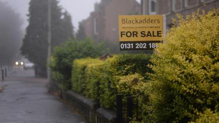 Property values in Edinburgh have seen the biggest upswing over the last three months out of the 20 cities monitored by Hometrack