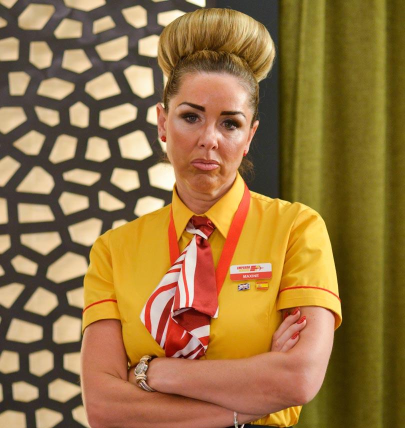 Claire Sweeney in Benidorm