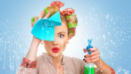 Clean up your house in a flash