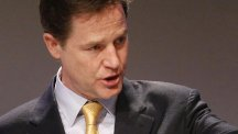 Nick Clegg will be the subject of a TV drama