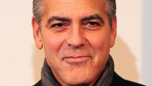 George Clooney stars in a special Downton Abbey scene for Text Santa