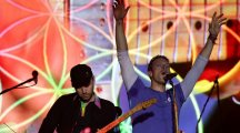 Coldplay channel Charlie Chaplin in record fourth Glastonbury headline slot