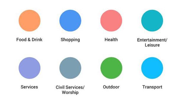 colour google maps