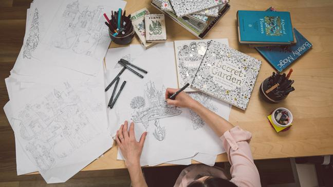 Crazy For Crayons Why Colouring Books Adults Are The New