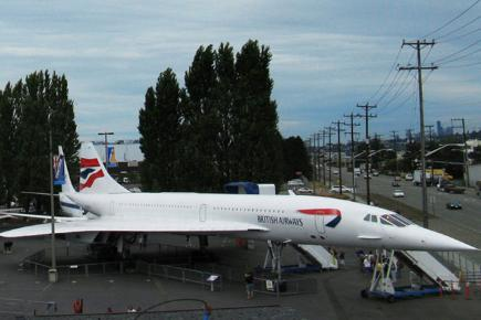 Concorde 214 - Museum of Flight, Seattle, USA