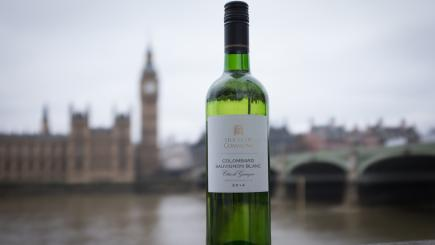 Consumption of wine from the Government's cellar is down, and it's because of Brexit